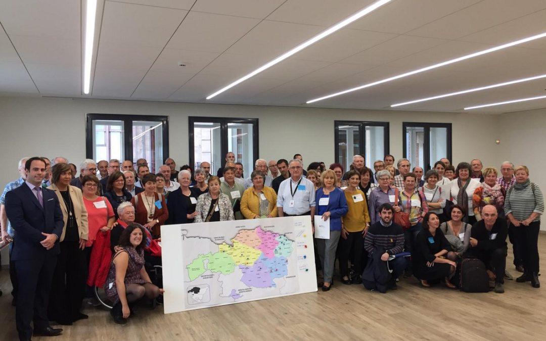 Asistencia al encuentro de Municipios Amigables de Bizkaia