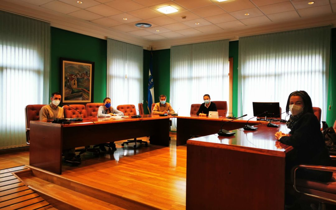 Reunión con Alcaldía y comunicación de Muskiz